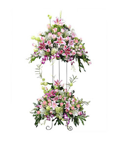 standing florist duka cita selamat dan sukses