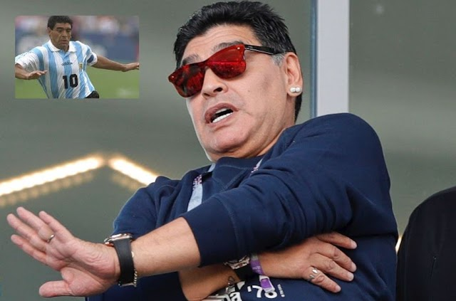 World Cup: Don't return home if you lose to Nigeria, Maradona warns Argentina coach