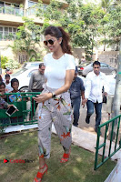 Bollywood Actress Shilpa Shetty Pos at Yoga Posed Statue Inauguration .COM 0004.jpg