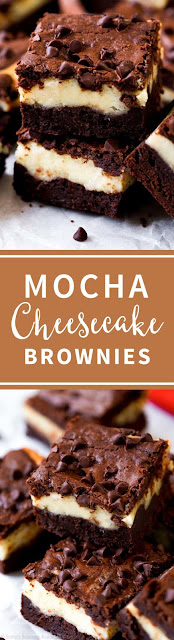 Mocha Cheesecake Brownies