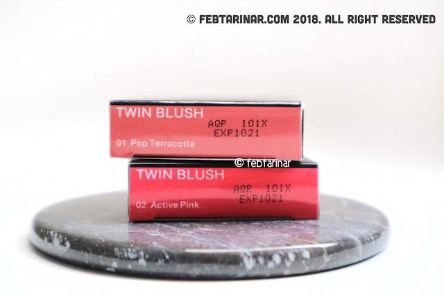 review pixy twin blush beauty blogger bandung febtarinar.com