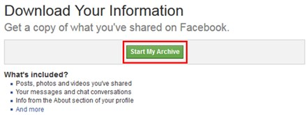 How To Access Your Facebook Archived Messages