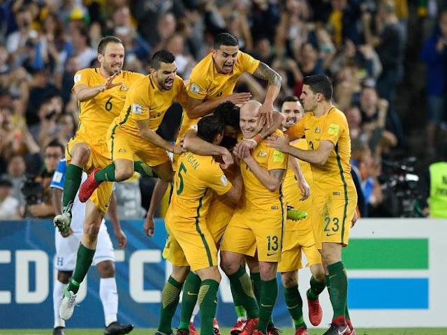 Australia clasificó tras superar a Honduras con tres goles de Jedinak
