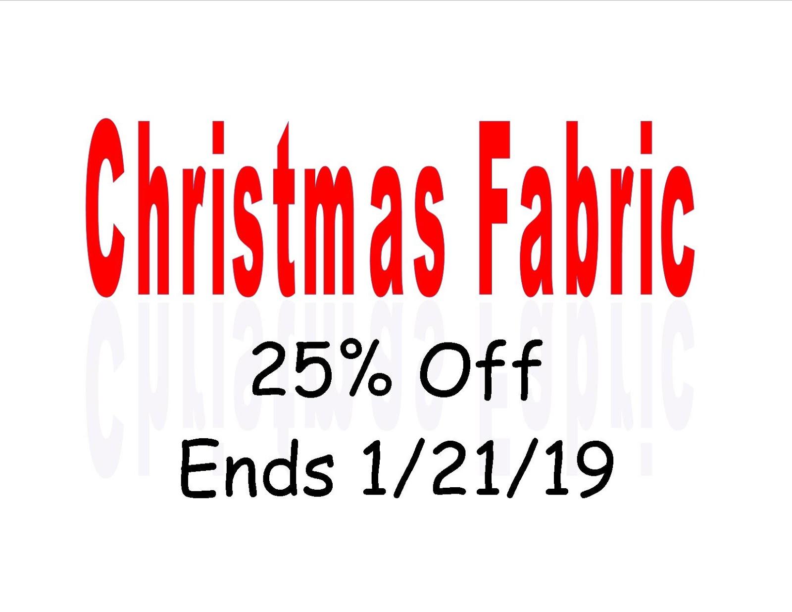 Christmas Fabric 2019.Creative Sewing Machine Center Blog