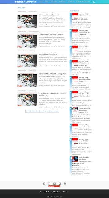 Indonesiakompeten.id Website Penyedia Informasi Seputar Pelatihan, Sertifikasi dan SKKNI