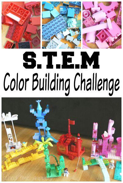 STEM Challenge for Preschoolers