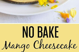 NO-BAKE MANGO CHEESECAKE