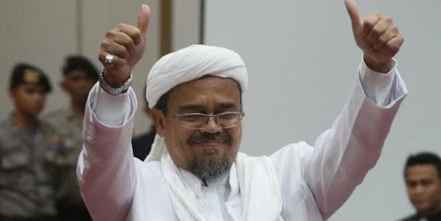 Habib Rizieq Lebih Populer Dari Surya Paloh Bahkan Dari Zulkifli Hasan
