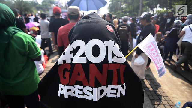 #2019GantiPresiden, Sudah Benar Itu!