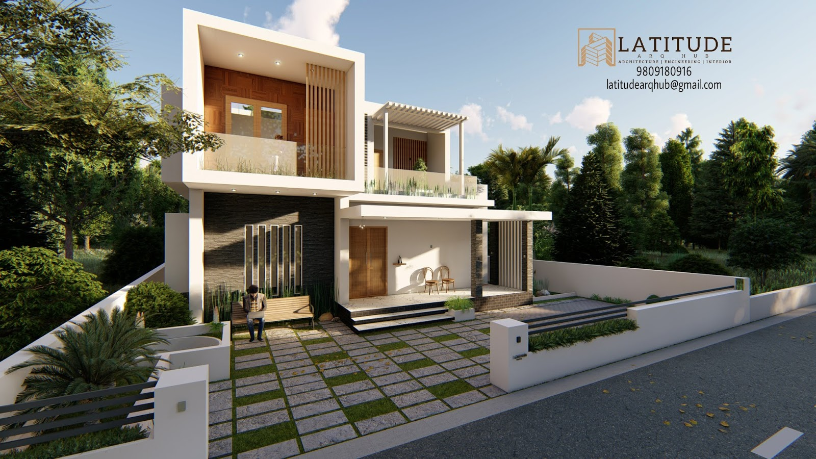 4 bedroom 2 story house plans Kerala style