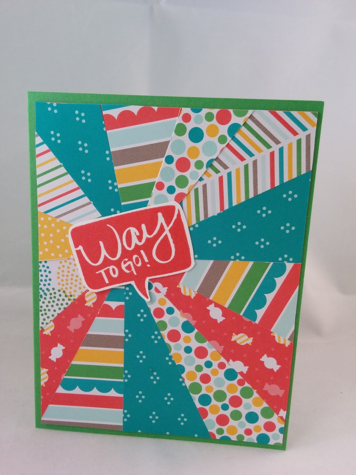 Jenny G Paper Crafts: With a Cherry On Top