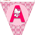 Hello Kitty Free Printable Bunting.