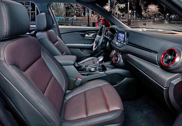 Burlappcar: 2019 Chevrolet Blazer RS