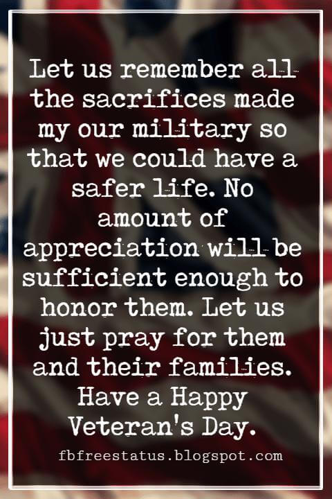 Veterans Day Quotes, Veterans Day Messages,
