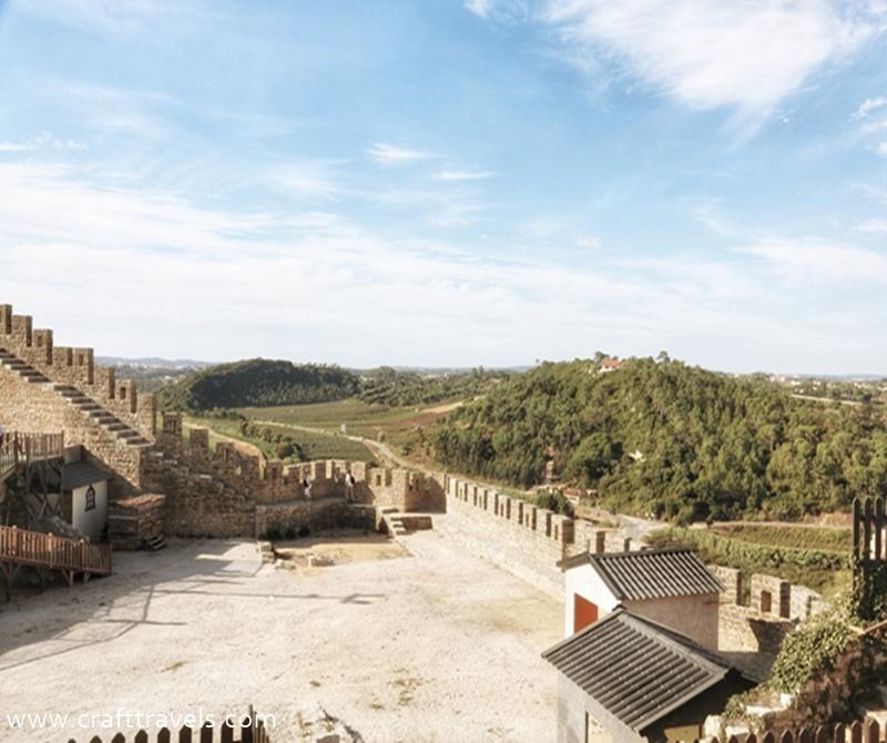 Obidos w Portugalii, 7 cudów Portugalii, ciekawe miejsce w Portugalii