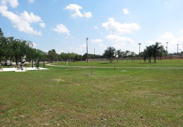 Burrowing Owl nest - Brian Piccolo Sports Park, Florida