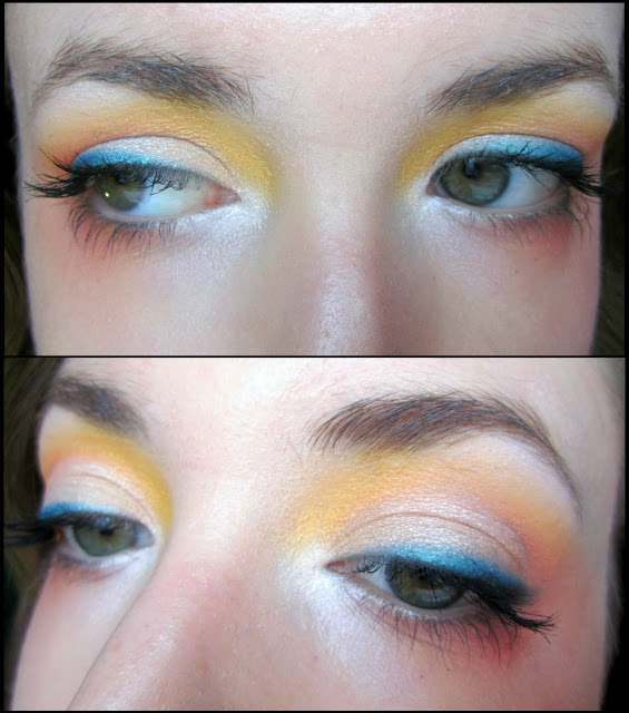 A Day in the Tropics: Sunset Eye Makeup feat. Urban Decay Full Spectrum Palette!