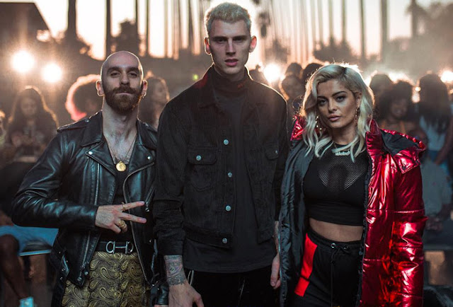 Machine Gun Kelly, X Ambassadors, & Bebe Rexha Unveil 'Home' Video