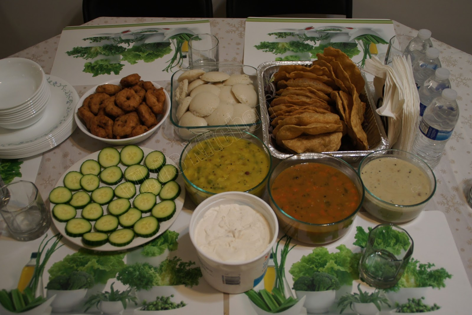 viki 39 s kitchen south indian vegetarian party