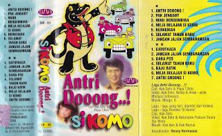 si komo album antri dong http://www.sampulkasetanak.blogspot.co.id