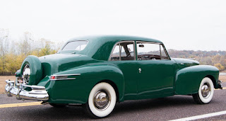 all american classic cars 1948 lincoln continental 2 door coupe. Black Bedroom Furniture Sets. Home Design Ideas