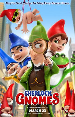 Sherlock Gnomes (BRRip 720p Dual Latino / Ingles) (2018)