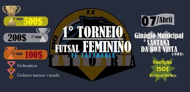 1º Torneio de Futsal Feminino FC Tattoaria