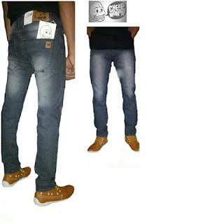 celana jeans pria cheap monday