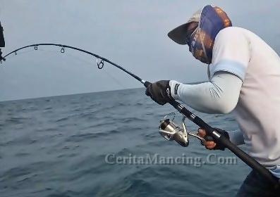 Mancing Strike Ikan Cermin Umpan Jig Alias Mancing Jigging