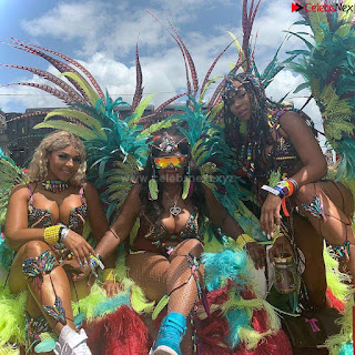 Ashanti huge  at Carnival in Trinidad and Tobago wearing   celebs.in Exclusive Pics 002