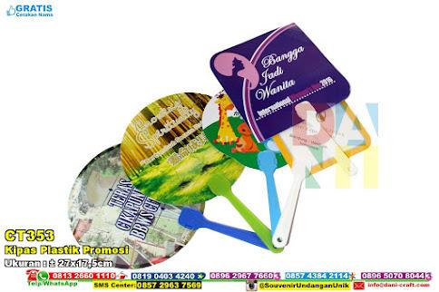 Kipas Plastik Promosi