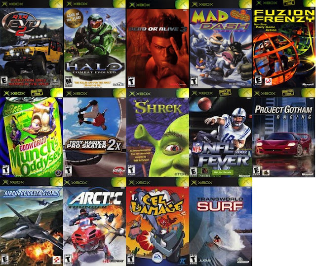 Original Xbox Launch Titles