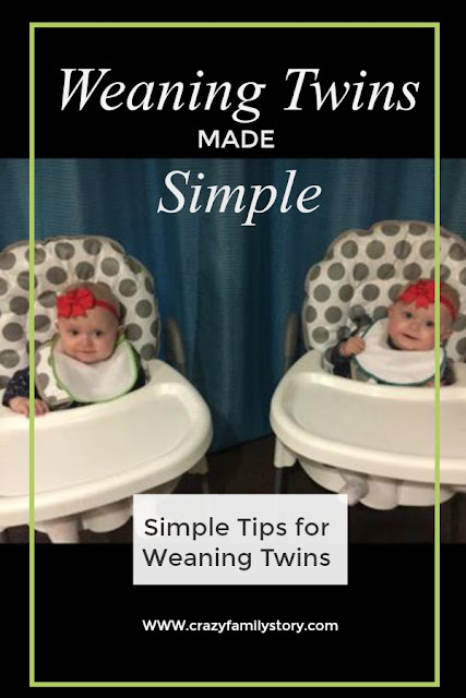 Weaning Twins made simple | My Crazy Family Story