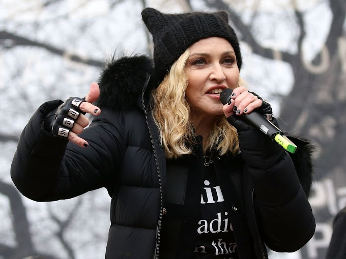 Madonna Clarifies Her Anti-Trump Speech from the Women's March: 'I Spoke in Metaphor'