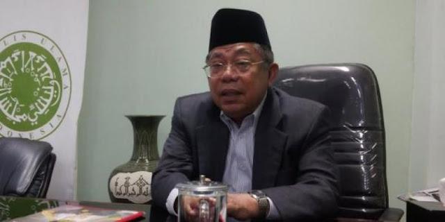 Tamparan Keras Dari Ketua MUI Buat Doa Politisi Gerindra Yang sindir Jokowi di Paripurna