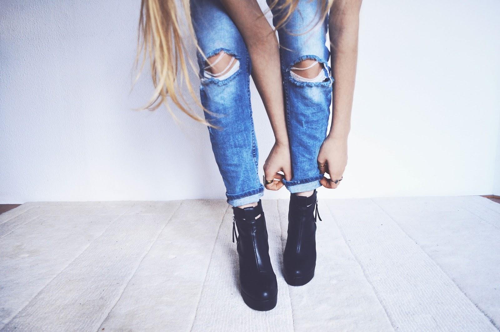jeans trends 2018 f r damen alle neuen styles und looks f r fr hjahr sommer im berblick. Black Bedroom Furniture Sets. Home Design Ideas
