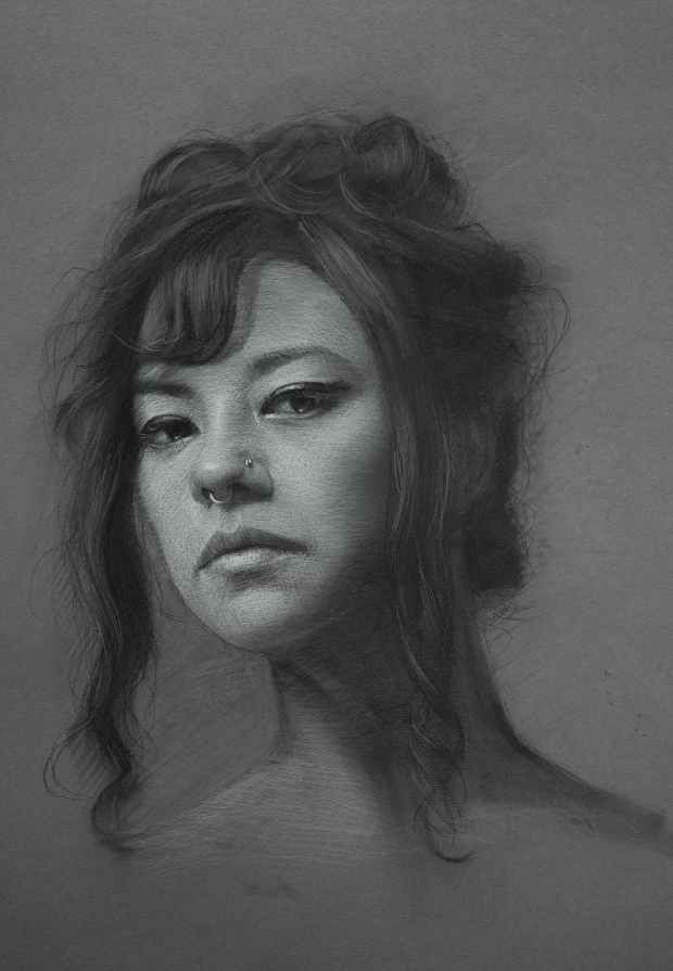 07-Shana-Levenson-Charcoal-Portraits-on-Paper-Inspired-by-Nostalgia-www-designstack-co