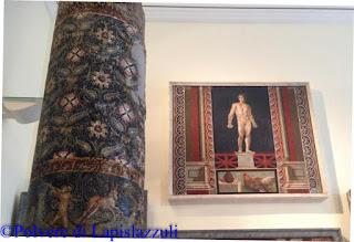 Mosaico di un pugile esposto al museo archeologico di napoli
