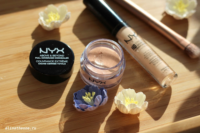 NYX отзывы HD Консилер с аппликатором CONCEALER WAND корректор CONCEALER JAR