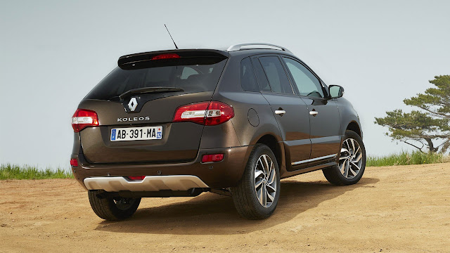New Renault Koleos rear