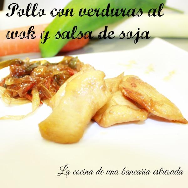 Pollo con verduras al wok receta paso a paso y con fotografías