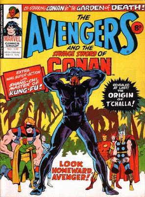 Marvel UK, Avengers #138, the Black Panther