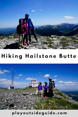 Hiking Hailstone Butte, South Kananaskis
