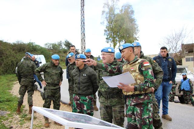 Jenderal Spanyol : Pasukan Perdamaian Indobatt Profesional Dalam Bertugas
