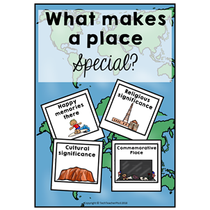 early years, prep, foundation year, year 1, grade 1, first grade, geography, social studies, mapping, features, curriculum