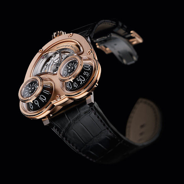 MB & F MegaWind Mechanical Watch gold