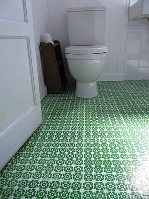 cheap vinyl flooring - bathroom floor ideas