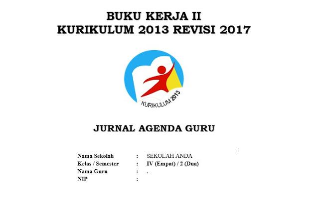 Jurnal Kelas 4 SD Semester 2 Kurikulum 2013 Revisi 2017