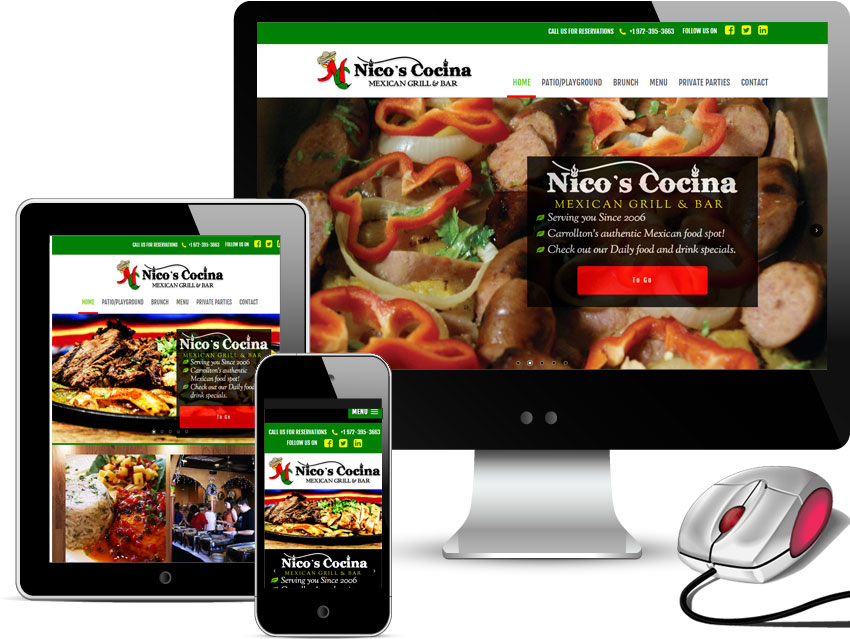 Dallas Web Designing Company Why Your Restaurant Needs