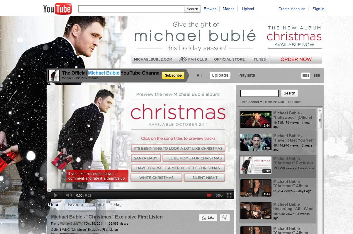Michael Buble Christmas Album.Michael Buble Gets An Early Jump On Promoting His New